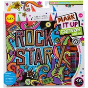Alex Toys® Mark It Up Canvas Wall Art, Rock Star