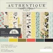 Authentique™ Paper 6 x 6 Bundle Cardstock Pad, Harmony