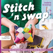 """C&T Publishing """"Stitch 'n Swap: 25 Handmade Projects to Sew, Give & Receive"""" Paperback Book"""