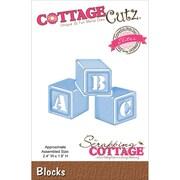 """CottageCutz® 2.4"""" x 1.8"""" Elites Steel Die, Blocks"""