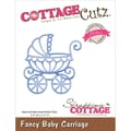 CottageCutz® 2.3in. x 2.3in. Elites Steel Die, Baby Carriage