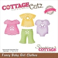 CottageCutz® Elites Steel Die, Baby Girl Clothes