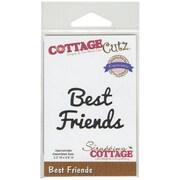 """CottageCutz® Expressions 3.3"""" x 0.6"""" Steel Die, Best Friends"""