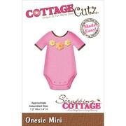 """CottageCutz® 1.2"""" x 1.4"""" Mini Steel Die, Onesie"""