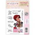 Crafter's Companion 5 1/2in. x 8 1/2in. Scruffy Little Cat Cling Stamp Set, Ashleigh