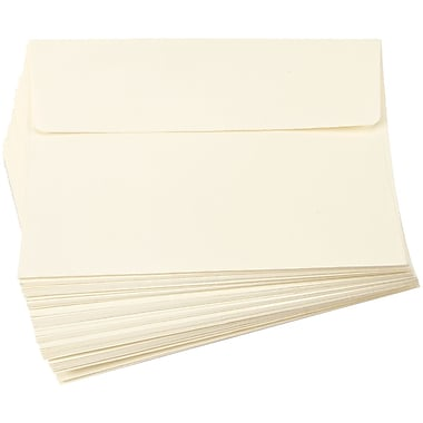 Darice ENV57 Smooth Ivory Card and Envelopes, 5