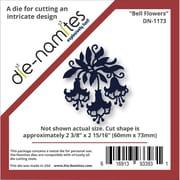 """Die-Namites 2 3/8"""" x 2 15/16"""" Die, Bell Flowers"""