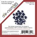 Die-Namites 2 7/8in. x 2 15/16in. Die, Pretty Blooms