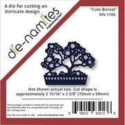 """Die-Namites 2 15/16"""" x 2 3/8"""" Die, Cute Bonsai"""