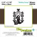 Die-Versions® Whispers 2.5in. x 3.437in. Die, Wedding Canopy