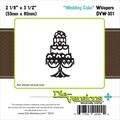 Die-Versions® Whispers 0.016in. x 3.5in. Die, Wedding Cake