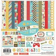 "Echo Park Paper 12"" x 12"" Carta Bella™ Collection Kit, Boy Oh Boy"