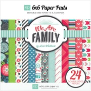 Echo Park Paper 6 x 6 Paper Pad, We Are Family