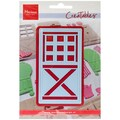 Ecstasy Crafts Marianne Design 2 1/4in. x 4in. Creatables Dies, Stable Door