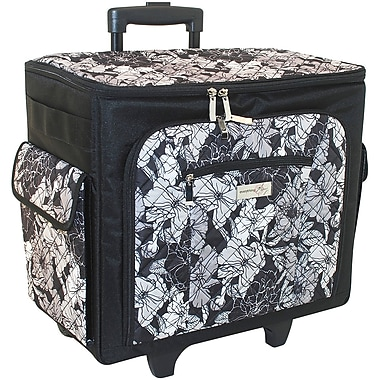 sewing machine rolling tote