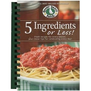 """Gooseberry Patch® """"5 Ingredients or Less"""" Cookbook"""