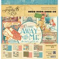 Graphic 45 12in. x 12in. Paper Pad, Come Away With Me