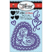 """Hot Off The Press HTP5320 Multicolor Paper Artist Cutting Die, 8.5"""" x 4.75"""""""