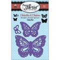 Hot Off The Press Paper Artist Cutting Die, 3 Butterflies & 2 Shadows