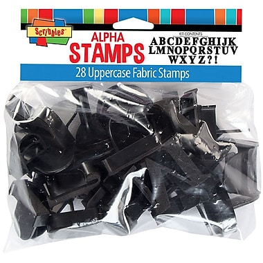 I Love To Create® Stamp Kit, Uppercase Alphabet