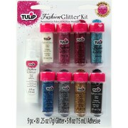 I Love To Create® Tulip® Fashion Glitter Kit, Multicolor