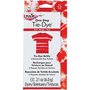 I Love To Create® Tulip® 0.45 oz. One-Step Fashion Dye Refill, Red