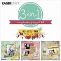 Kaisercraft 12in. x 12in. 3-in-1 Layout Kit, Be-You-Tiful