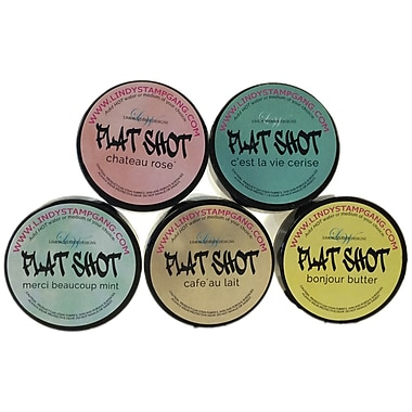 Lindy's Stamp Gang Flat Shot Set, Tres Chic