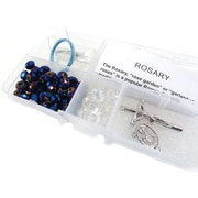 Linpeng International Crystal & Pearl Rosary Bead Kit