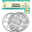 """Loew-Cornell 1026292 Gray/Silver Transform Mason Ball Lid Inserts Frog Wide Mouth, 3.25"""""""