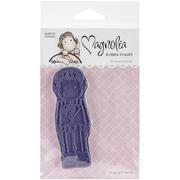 """Magnolia 6 1/2"""" x 3 1/2"""" Wedding Cling Stamp, Tilda In Smoking Jacket"""