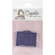"Magnolia 6 1/2"" x 3 1/2"" A Little Yummy For Your Tummy Cling Stamp, Fruit Label"