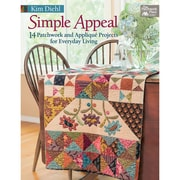 """Martingale® """"Simple Appeal - 14 Patchwork and Applique Projects for Everyday Living"""" Paperback Book"""