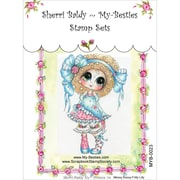 My-Besties 4 x 6 Clear Stamp, Messy Bessy-Frilly Lilly