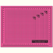 "Perfect Paper Crafting WHMA810 Pink Cutting Mat, 10"" x 8"""