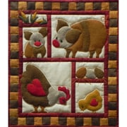 "Rachel's Of Greenfield 13"" x 15"" Quilt Kit, Ham and Eggs"