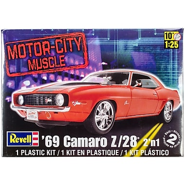 Revell® 2 'n 1 Plastic Model Kit, '69 Camaro Z/28 1:25