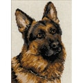 Riolis® 9 1/2in. x 11 3/4in. Counted Cross Stitch Kit, German Shepherd