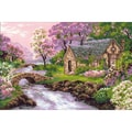 Riolis® 15in. x 10 1/4in. Counted Cross Stitch Kit, Spring View