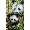 Riolis® 8 3/4in. x 15in. Counted Cross Stitch Kit, Panda With Young