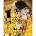 Riolis® 11 3/4in. x 15 3/4in. Counted Cross Stitch Kit, The Kiss/G. Klimt's Painting
