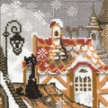 Riolis® 5in. x 5in. Counted Cross Stitch Kit, City & Cats Winter