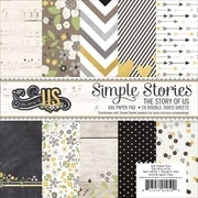 Simple Stories™ 6 x 6 Paper Pad, The Story Of Us