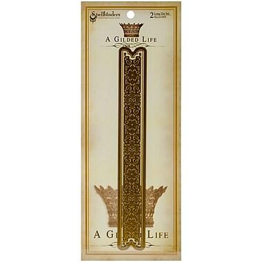 Spellbinders GLLD003 Gold A Gilded Life Long Die Quatrefoil Band