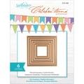 Spellbinders® Celebra'tions 4in. x 4in. Cutting Die Template, Pierced Squares