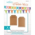 Spellbinders® Celebra'tions 2 1/8in. x 3 1/8in. Cutting Die Template, Build A Tag 1