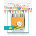 Spellbinders® 4 1/4in. x 5 1/2in. Celebrations Embossing Folder, Framed Canvas