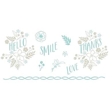 We R Memory Keepers LLPP-3743 Lifestyle Letterpress Floral Printing Plate, 6.5
