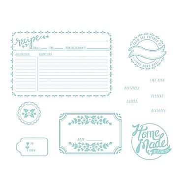 We R Memory Keepers LLPP-3746 Lifestyle Letterpress Homemade Printing Plate, 6.5