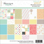 "Webster's Pages® 6"" x 6"" Paper Pad, Hello World"